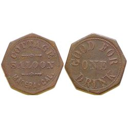 Cottage Saloon Token