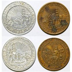 California Pacific Exposition Medals