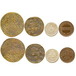 Four French Tokens