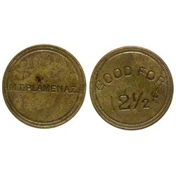 M. T. Plamenez Token - Most Probably from Candelaria