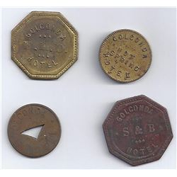 Golconda Tokens, Ephemera and the Dam Story