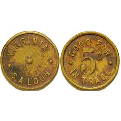 Virginia Saloon Token