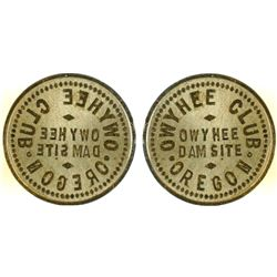 Owyhee Club Token Die