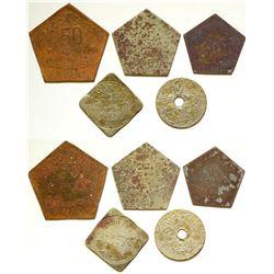 Rare Pentagonal Tokens