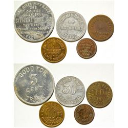 Five Different Tokens