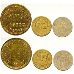 Three Texas Tokens