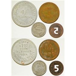 Four Houston Tokens