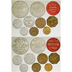 Pyle Lumber/G.W. Luke and other Tokens