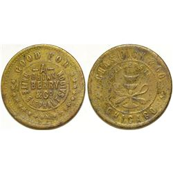 White Elephant Saloon Token