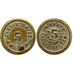 Chas. C. Price Token