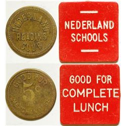 Nederland Reading Club/ Schools Tokens