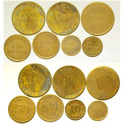 Mrs. E. Schultz & Son Tokens