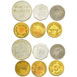 Olmito Packing Co. Tokens