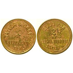 Legal Tender Saloon Token