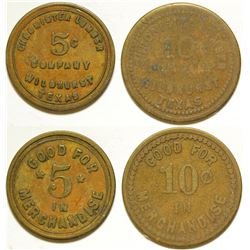 Chronister Lumber Co. Tokens
