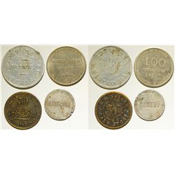 """M"" Town Tokens"