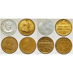 Admiral George Dewey Tokens