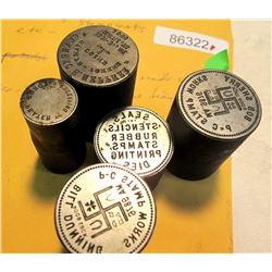 Bill Dunning/Bob Sherry Stamp Works Token Dies