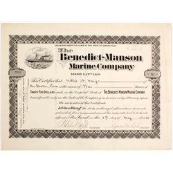 Benedict Manson Marine Co