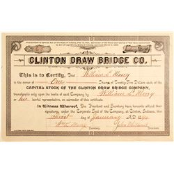 Clinton Draw Bridge Co Stock