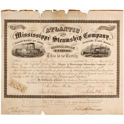Atlantic and Mississippi Steamship Co Stock