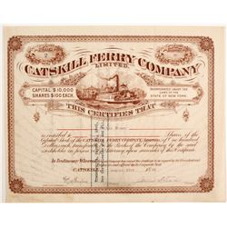 Catskill Ferry Co Stock