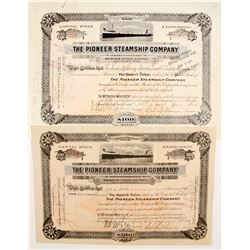 Pioneer Steamship Co Stocks (2)