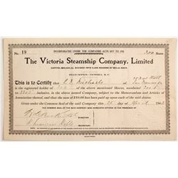 Victoria Steamship Co Stock