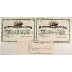 Boston and Philadelphia Steamship Co Stocks (2)