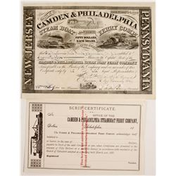 Camden & Philadelphia Steam Boat Ferry Co Stock