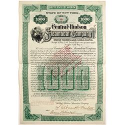 Central Hudson Steamboat Co Bond