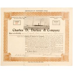 Charles D Durkee & Co Stock