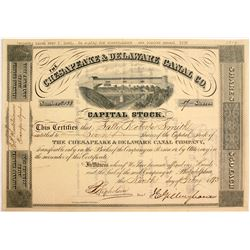 Chesapeake & Delaware Canal Co. Stock