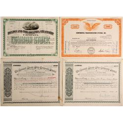 Cunard and 2 Other Navigation Stocks