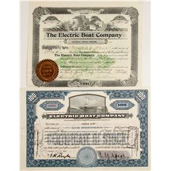 Electric Boat Stock, 2 Different