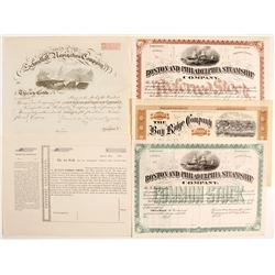 Unissued Steamer Stocks (5)