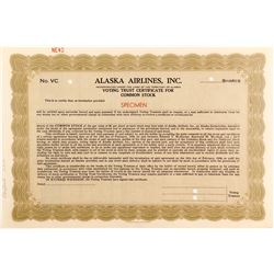 Alaska Airlines, Inc. Voting Certificate