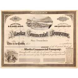 Alaska Commerical Company stock