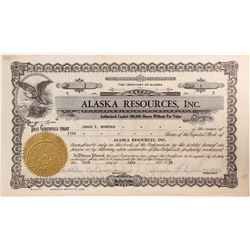 Alaska Resources Inc Stock #1