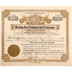 Bering Sea Commercial Company stock