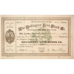 Redington Live Stock Company Stock