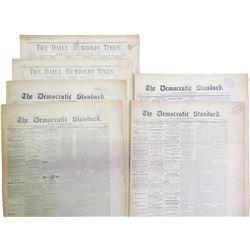 Eureka, CA 1870's Newspapers (6)
