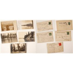 Choice Early Lake Tahoe Real Photo Postcards RPC