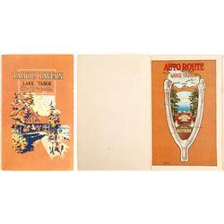 Tahoe Tavern Booklet