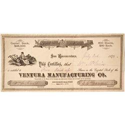 Ventura Manufacturing Company Stock