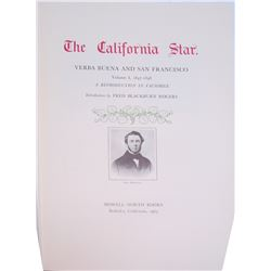 California Star, 1847-8, Reproduction Bound