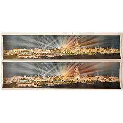Panoramas of Panama-Pacific International Expo.