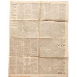 San Francisco Newspaper, 12/24/1880