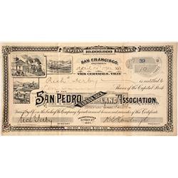 San Pedro Harbor Dock and Land Association Stock