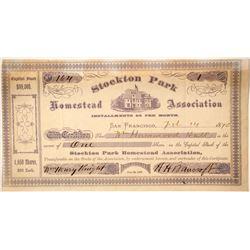 Stockton Park Homestead Association Stock